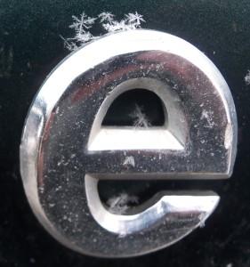 "Snow on ""e"""