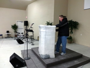 Pulpit Delivery