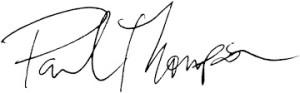 paul signature