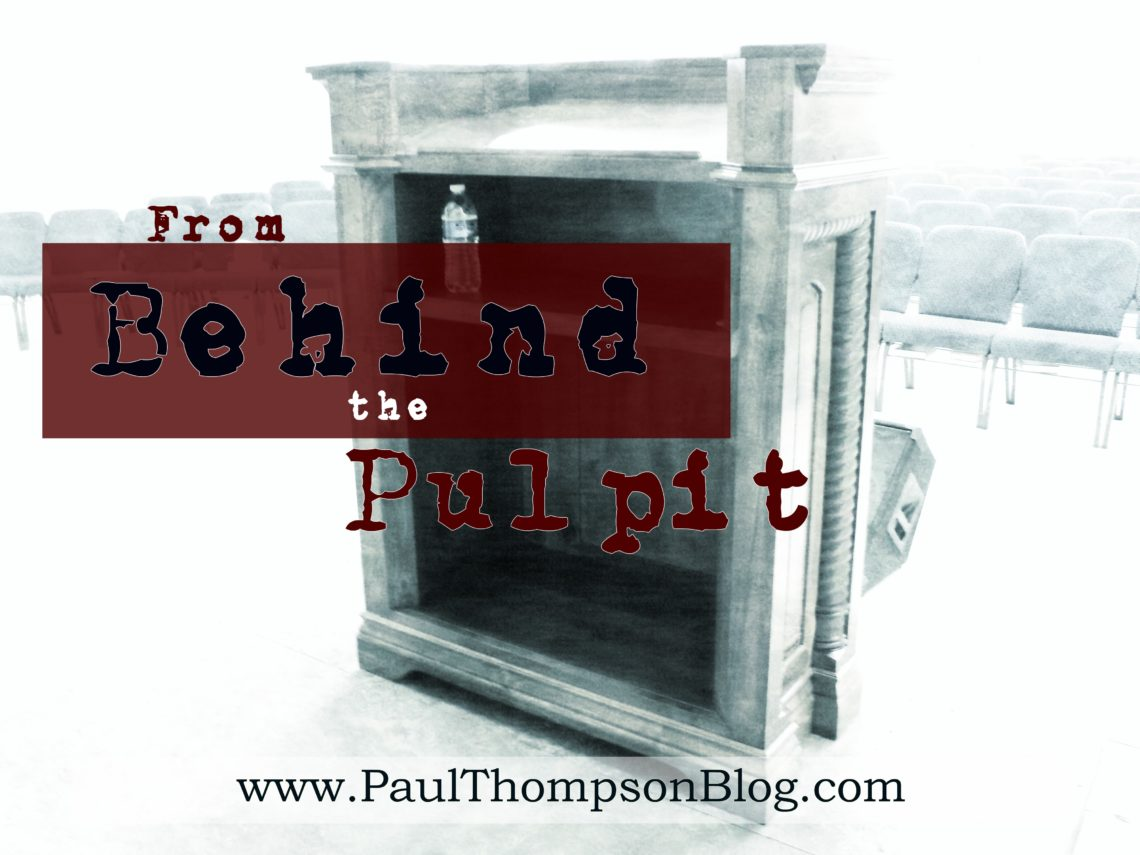 From Behind the Pulpit (FBP-016)